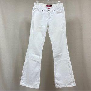 So...Stretch White Jeans